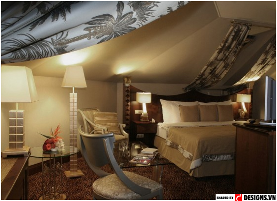Room design at Imperial Art Hotel