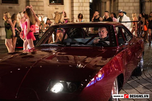 siêu xe trong fast and furious 6