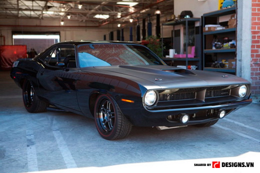 siêu xe trong fast and furious 6 plymouth barracuda