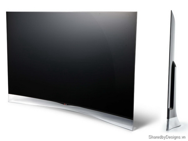 thiết kế xuất sắc lg curved oled tv red dot 2013