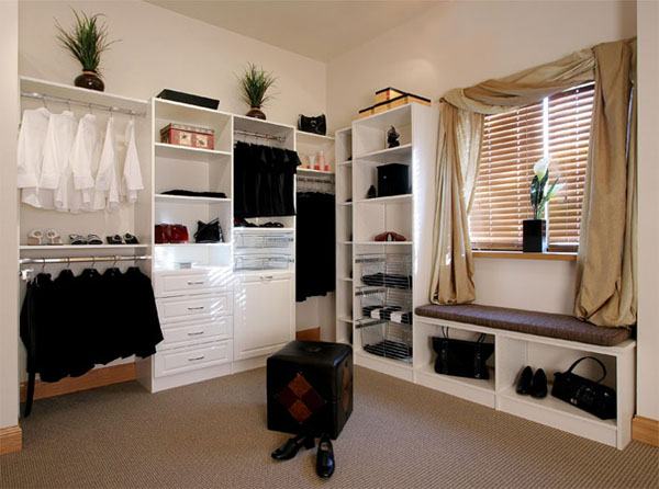 Thi t k ph ng thay for Dressing area designs