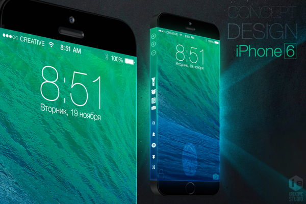 iPhone Three-sided Display