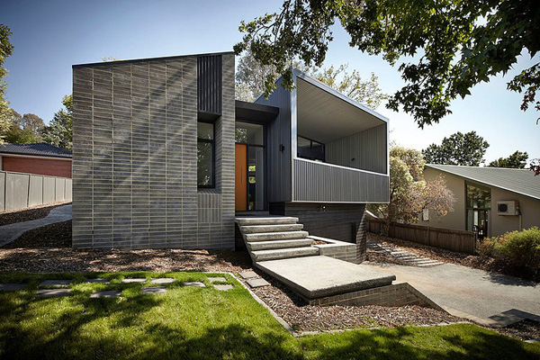 Thiet ke- nha tren doi-Narrabundah House -boi- Adam Dettrick Architects