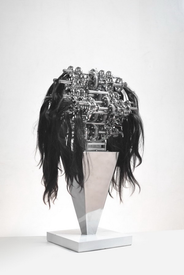 """Machine with hair caught in it', 2015"