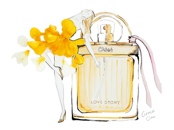 grace-ciao-saks-glam-gardens-sakspov-chloe-love-story-fragrance-fashion-illustration