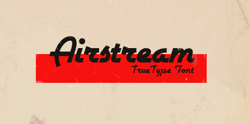 font-chu-vintage-co-dien-retro-download-airstream