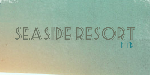 font-chu-vintage-co-dien-retro-download-seaside-resort
