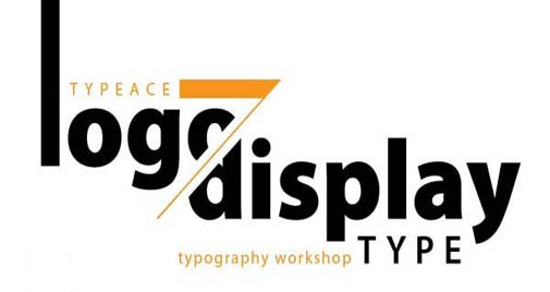 Workshop khác biệt: Typeace 7 – Logo/display type