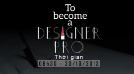 Hội thảo To become a Designer Pro