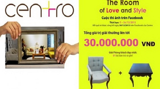 Cuộc thi The Room of Love and Style (Đến 26/12)